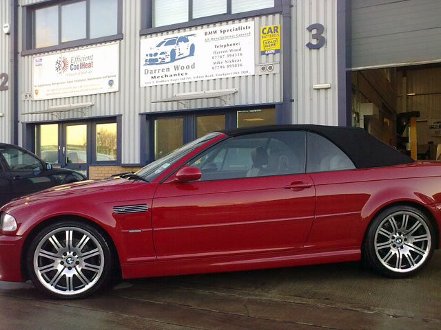Idbeherfriend Bmw M3 E46 Convertible Red Images